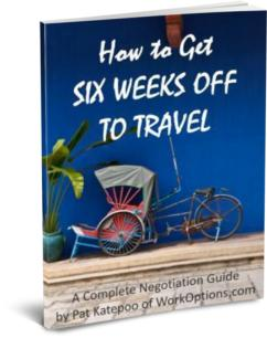 How To Get Six Weeks Off To Travel