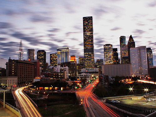 Houston Skyline by jfre81